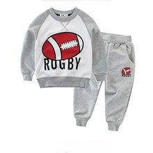 869e29f58 Mickey do bebê conjuntos de roupas menino 2 de confortável dos desenhos  animados longo-sleeved
