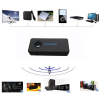 Wireless Bluetooth3 0 A2DP 3 5mm Stereo Audio Cable Music Audio Bluetooth Transmitter Receiver Sender Adapter