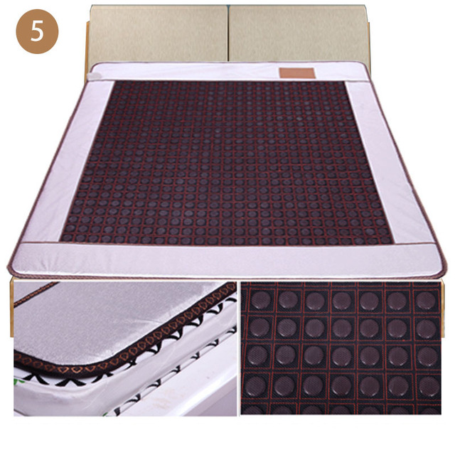 Jade pad mattress dual temperature dual temperature control of matrine germanium infrared heating mattress health physiotherapy