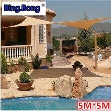 Protisluneční opalovací krém proti opalování HDPE sluneční clona pro ochranu proti slunečnímu záření 5 5m