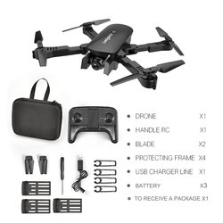 R8 RC Drone 4K 1080P 720P Dual Camera FPV WiFi Optical Flow Real Time Aerial Video RC Quadcopter Foldable Aircraft  Camera Drone