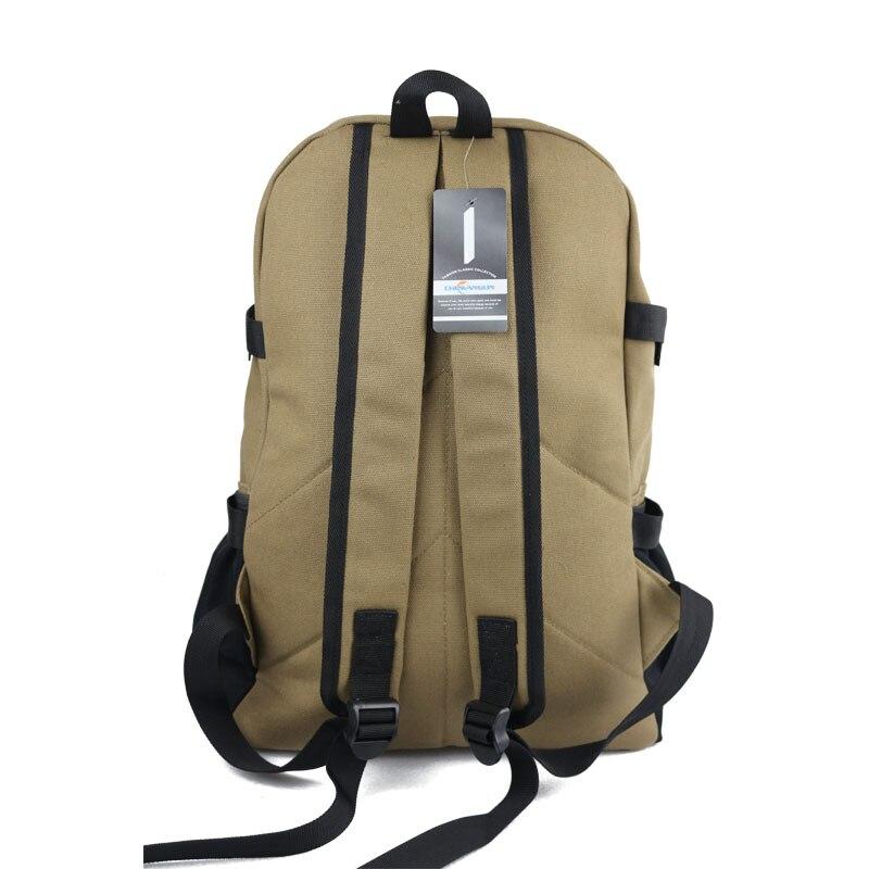 ec3d419faada ... Новая Мода дугообразный shouider ремень молнии твердые случайные сумки  мужской рюкзак школьный портфель холщовый мешок дизайнер ...