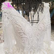 Aijingyuのウェディングドレス素朴なホワイトコルセット王女のウェディングドレス1000