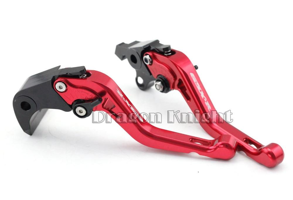 Motocycle Accessories For SUZUKI GSX-R 1000 07-08 Short Brake Clutch Levers Red