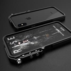 Image 5 - Funda de aluminio para iPhone 7, 8 Plus, iPhone x, xs, max, edición táctica