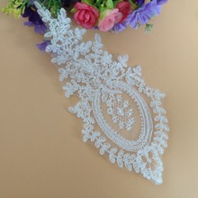 Sewing Lace Collar Necklaces White Fake Neckline  DIY Craft Aplique 5 Pairs(10 pcs) HH192