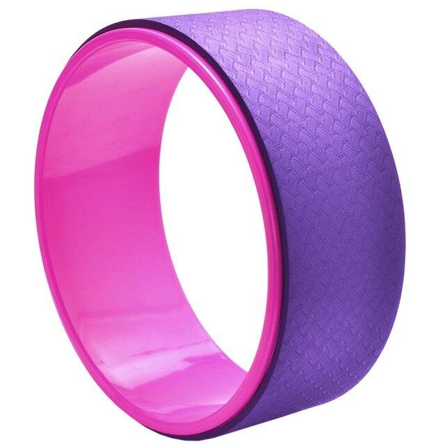 Yoga Wheel Pilates Waist Shape Bodybuilding Back Training Tool For Fitness 3