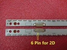 Nouveau 2 pièces/ensemble 60 LED 572mm LED bande de rétro éclairage pour Samsung UE46ES5500 S LED 2012SVS46 7032NNB RIGHT60 LEFT60 2D