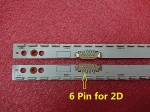 Image 1 - Yeni 2 adet/takım 60LED 572mm LED arka ışık şeridi Samsung UE46ES5500 KıZAK 2012SVS46 7032NNB RIGHT60 LEFT60 2D