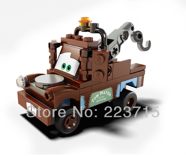 *Tow Mater* DIY enlighten block bricks,Compatible With other Assembles Particles