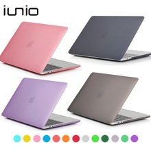 For Macbook 13 Inch Case Matte Crystal Transparent Hard Laptop Cover For Macbook Pro 13 Air