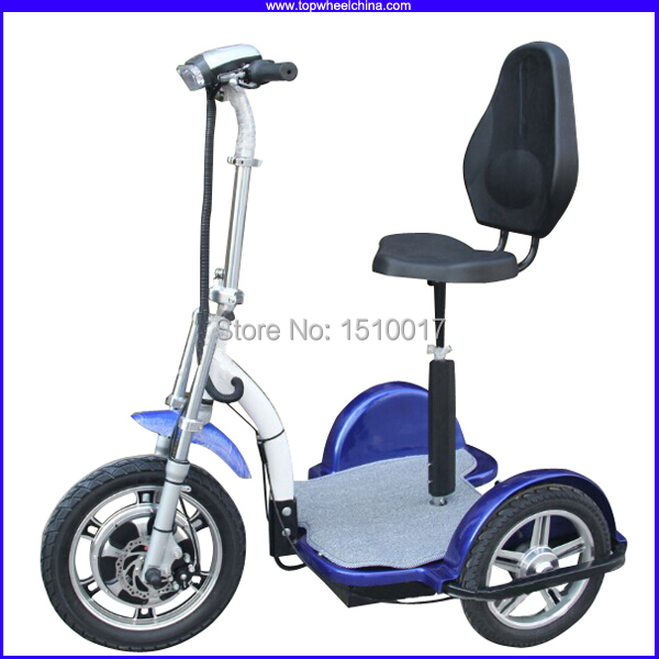 Factory wholesale tp012d 3 wheels electric scooter adults for Motor scooter 3 wheels