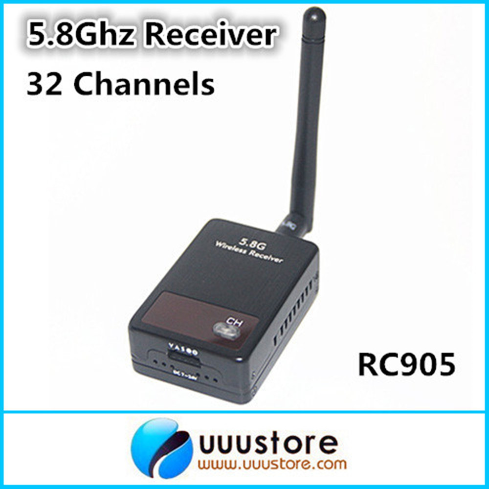Boscam Thunderbolt RC905 5.8Ghz 5.8g FPV 32 Channels Wireless audio video AV Receiver For 5.8G transmitter ZMR250 QAV280 QAV250 boscam 5 8ghz 200mw 8 channel fpv audio video transmitter
