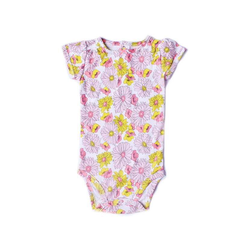 baby clothes 2018 girls summer bodysuit for baby girls clothes sun flowers infant onesie newborn jumpersuit roupas de bebe