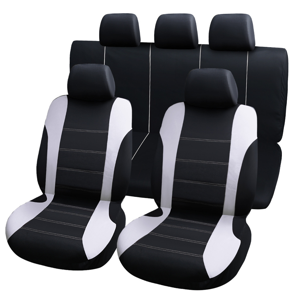 9 pièces housses de siège de voiture universelles housses de protection auto housses de siège automobile pour kalina grantar lada priora renault logan