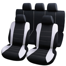 9 stücke universal auto sitzbezüge auto protect abdeckungen automotive sitzbezüge fo kalina grantar lada priora renault logan