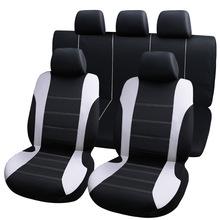 9 sztuk uniwersalne pokrowce na siedzenia samochodowe auto protect pokrowce pokrowce na siedzenia samochodowe fo kalina grantar lada priora renault logan tanie tanio tisity Cztery pory roku Polyester 76inch 0 6kg Pokrowce i podpory 120inch
