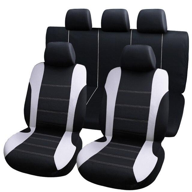 9pcs universal car seat covers auto protect covers automotive seat covers fo kalina grantar  lada priora renault logan