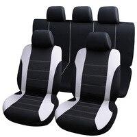 9pcs universele auto stoelhoezen auto bescherm covers automotive stoelhoezen fo kalina grantar lada priora renault logan