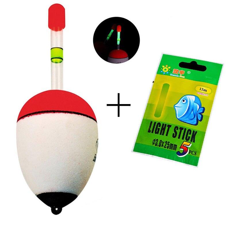 1Float 5 Light Stick EVA font b Fishing b font font b Floats b font Bobber