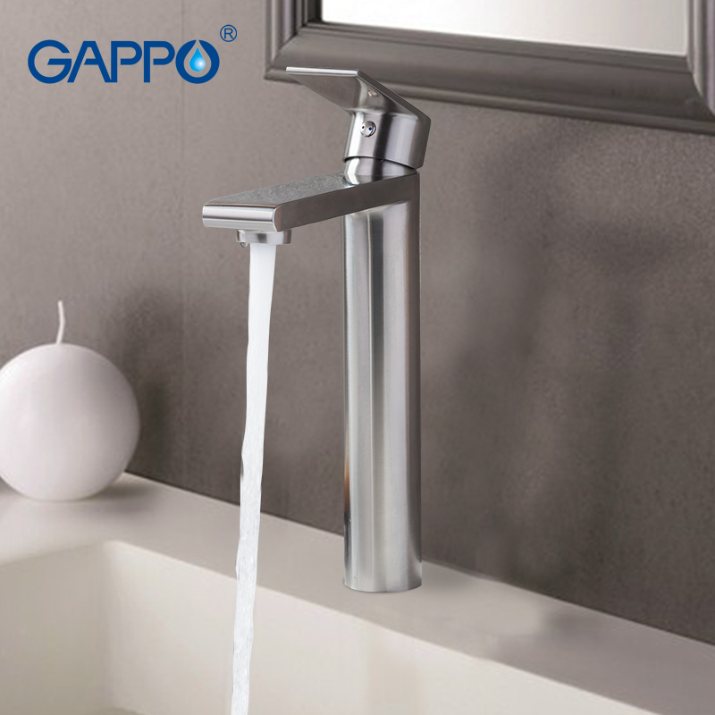 GAPPO basin faucet water mixer tap Basin sink Faucets bathroom stainless steel faucet waterfall toilet basin tap mixers nieneng big discount basin washroom mixer bathroom faucet tap mixers wc sanitary ware water toilet taps polished chrome icd60157