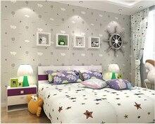 Современные декоративные 3D обои для детской спальни обои в рулоне теплые обои для спальни для стен 3 d papel де parede