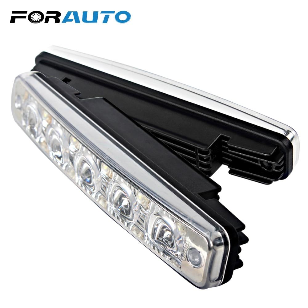1 para wasserdichte Auto Tagfahrlicht LED Licht Tagfahrlicht Blinker Blinker Auto Styling Tageslicht