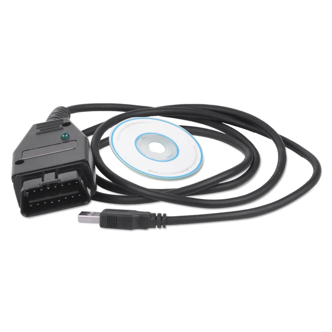 DWCX Car Plastic Metal Black VAG K CAN Commander 1 4 OBD2 Diagnostic Scanner Tool COM