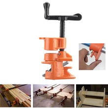 1/2 3/4inch Wood Gluing Pipe Clamp Set Cast Iron Heavy Duty Woodworking Carpenter Tool SDF-SHIP все цены