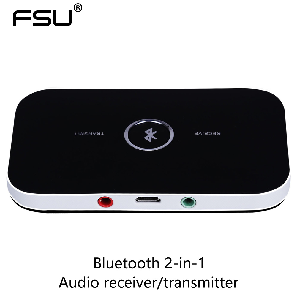 Bluetooth 2-in-1 audio receiver/transmitter with 3.5MM stereo audio port adpat for TV PC CD player ipad iphone syllable e3 bluetooth box 3 5mm audio transmitter for computer iphone