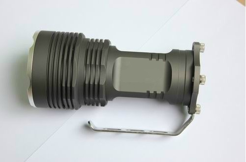 Free shipping 6000 Lumens 5x bulb CREE XM-L T6 LED 4x 18650 Flashlight Torch 35W Light Lamp