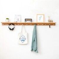 Creative home entrance wall coat rack clothes clothes hook hanger wall hanging wall porch hook rack WF4011617