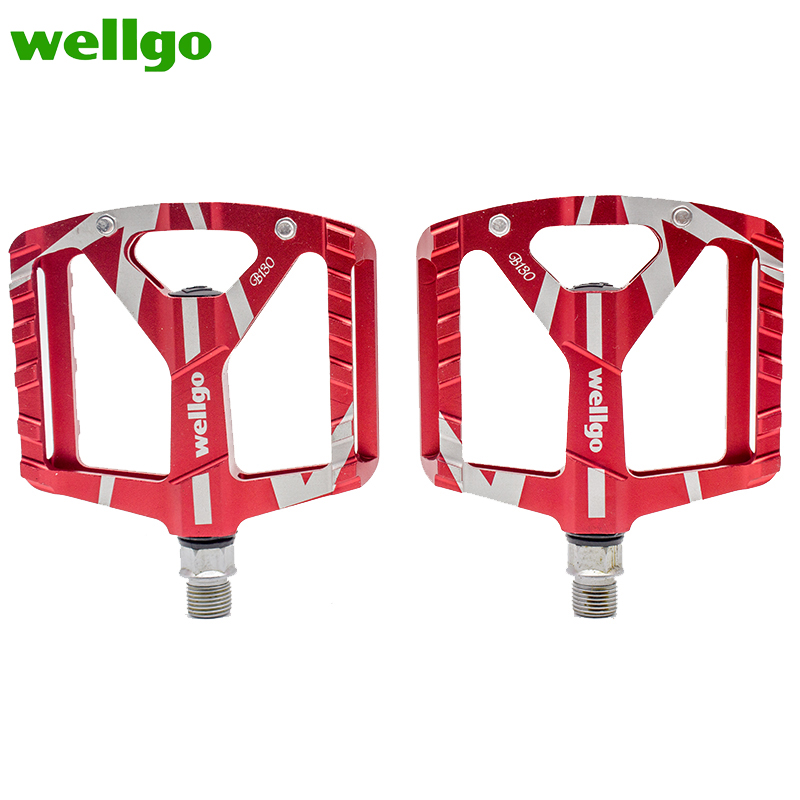 Wellgo B130 Bearing Aluminum CNC Bike Bicycle Pedal New High Quality Professional MTB Bike Road Mountain Pedal Outdoor|Bicycle Pedal| |  - title=