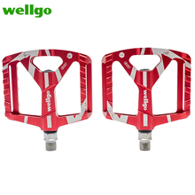 Wellgo B130 Bearing Aluminum CNC Bike Bicycle Pedal New High Quality Professional MTB Road Mountain Outdoor