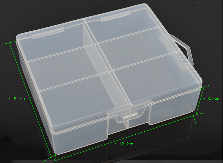 30pcs lot Hard Plastic Battery Case Holder battery Storage Boxes for 24pcs AA batteries transparent AA battery Holder Organizer in Battery Storage Boxes from Consumer Electronics