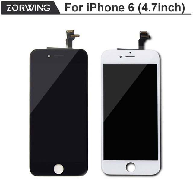 2017 Hot Sale Grade AAA 4.7 inch Replacement Screen LCD For iPhone 6 Display With Digitizer Touch Screen Assembly in Black White