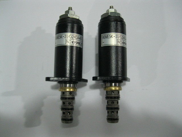 Fast Free shipping! Excavator Walking speed Solenoid Valve / Kobelco excavator speed solenoid valve G24DA40-for Kobelco SK200-6 wholesale solenoid valve for excavator e320 4i 5674 5pcs lot free shipping