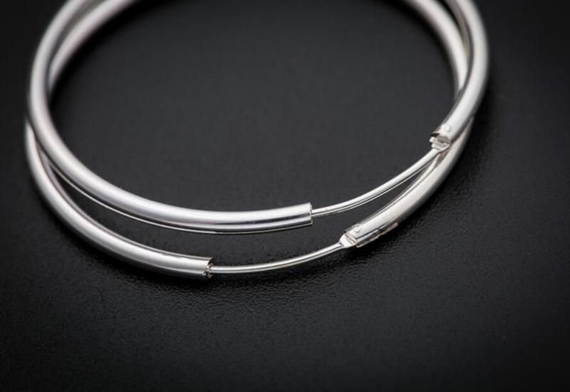 sinya circle ring hoop earring in 925 sterling silver ED0348E (14)