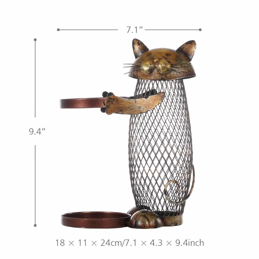 Das beste Produkt Tooarts Katze Rotwein Rack Kork Behälter Flasche ...