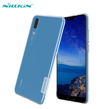 For Huawei P20 case cover Huawei P20 Pro back cover NILLKIN Ultra Thin Clear Soft Silicone Cases Coque For Huawei P20 Lite case защитное стекло для huawei p20 onext ultra