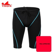 Yingfa fina approved Professional Swimwear Mens swimming jammersSwimsuit Swimming Shorts For Boys Mens Swim Trunks Bathing Suit