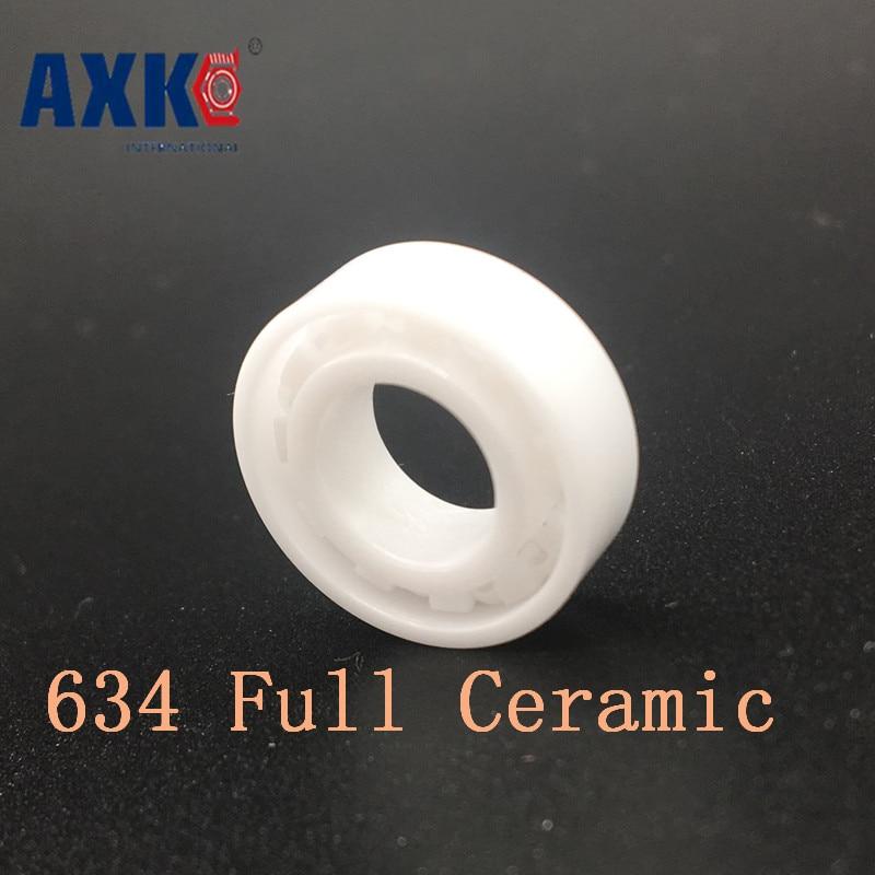 Axk 634 Full Ceramic Bearing ( 1 Pc ) 20*52*15 Mm Zro2 Material 634ce All Zirconia Ceramic Ball BearingsAxk 634 Full Ceramic Bearing ( 1 Pc ) 20*52*15 Mm Zro2 Material 634ce All Zirconia Ceramic Ball Bearings