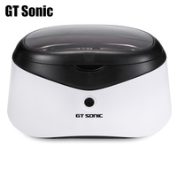 GT Sonic Digital Ultrasonic Cleaner 0.6L Manicure Sterilizer Cleaner Sterilizing Nail Tools Disinfection Machine Wash Bath Tank