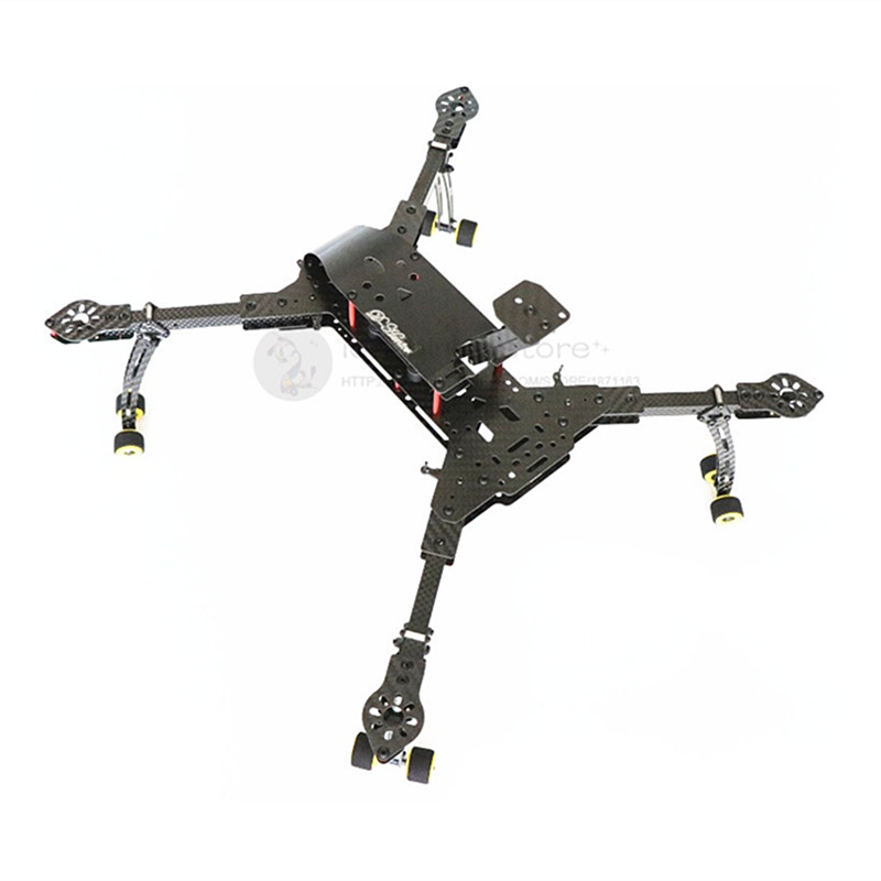 DIY FPV aerial drone DH410 pro folding 3K pure carbon fiber quadcopter frame with landing gear assembled DH410 upgrade-in Parts & Accessories from Toys & Hobbies    1