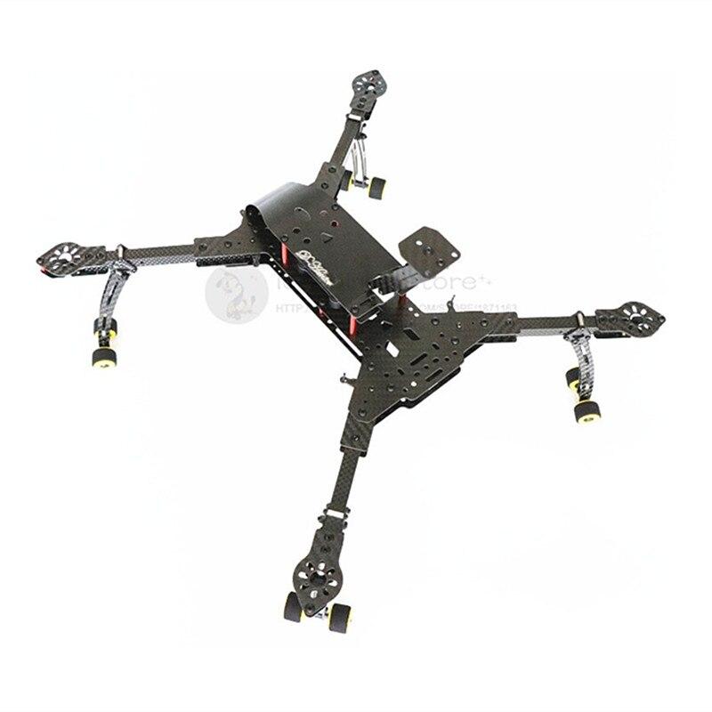 Diy fpv 공중 드론 dh410 프로 폴딩 3 k 순수 탄소 섬유 quadcopter 프레임 착륙 기어 조립 dh410 업 그레 이드-에서부품 & 액세서리부터 완구 & 취미 의  그룹 1