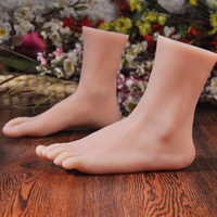 sexy female realistic mannequin foot female sexy feet ,high quality new silicone foot mannequin foot model best value on sale