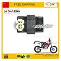 250CC shineray X2 X2X anéis CDI 6 pins 4 + 2 pins acessórios da motocicleta frete grátis