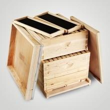 Набор коробок для улья 20 кадров(10 глубоких-10 средних) Langstroth Пчеловодство