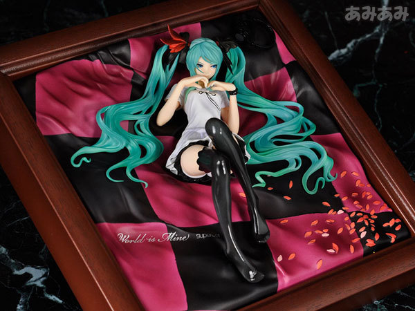 22cm Hatsune Miku picture Frame Anime Collectible Action Figure PVC toys for christmas gift free shipping