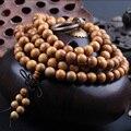 108*0.8 см Золотой Деревянные Четки Тибетского Буддизма Мала Браслет Будда Четки Ожерелье WoodenJewelry